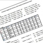 Excerpt form 2013 6 Nations Fixtures and 2012 Results - click link for full document