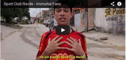 Recife Sports Club - Immortal fans