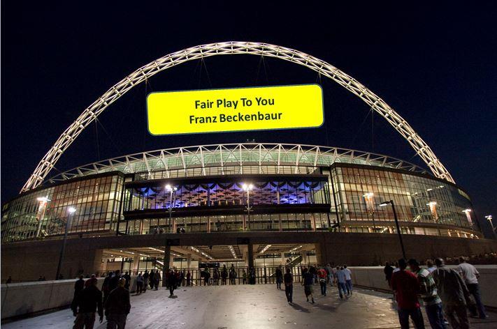 World Cup Wembley Fair Play