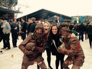 Fans Muddy