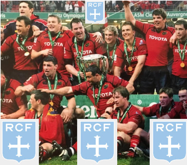 Munster Team with Racing Club Crest