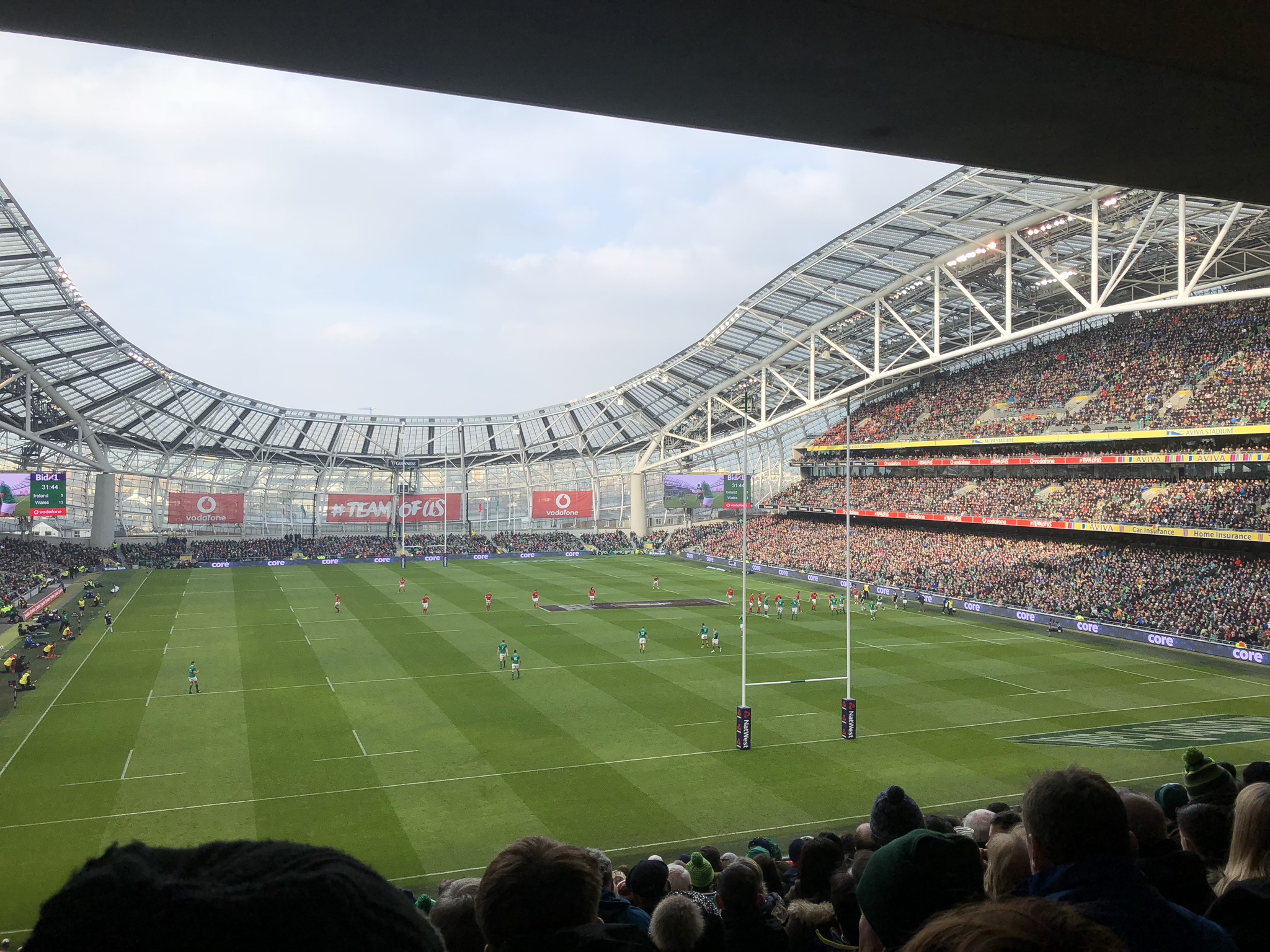 Ireland v Wales was an extraordinarily exciting game of rugby
